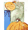 Sarah Dudley forbidden fruit lithography pumpking nightlight thumb